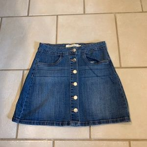 Denim Skirt Size Medium